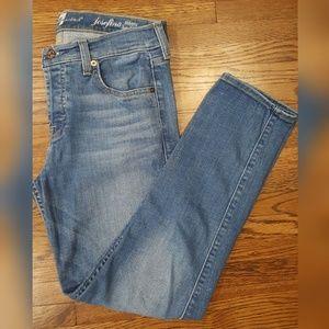 7FAMK Josefina Skinny Boyfriend Jeans 27